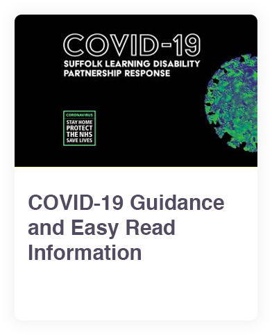 COVID 19 Guidance and Easy Read Information web link
