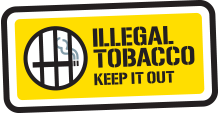 illegal tobacco keep it out logo
