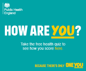 Public Health England - How are you? Take the free health quiz to see how you score here.