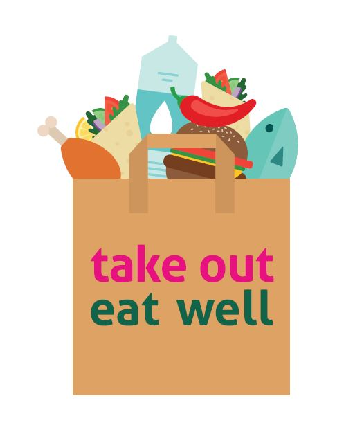 Take Out Eat Well Logo