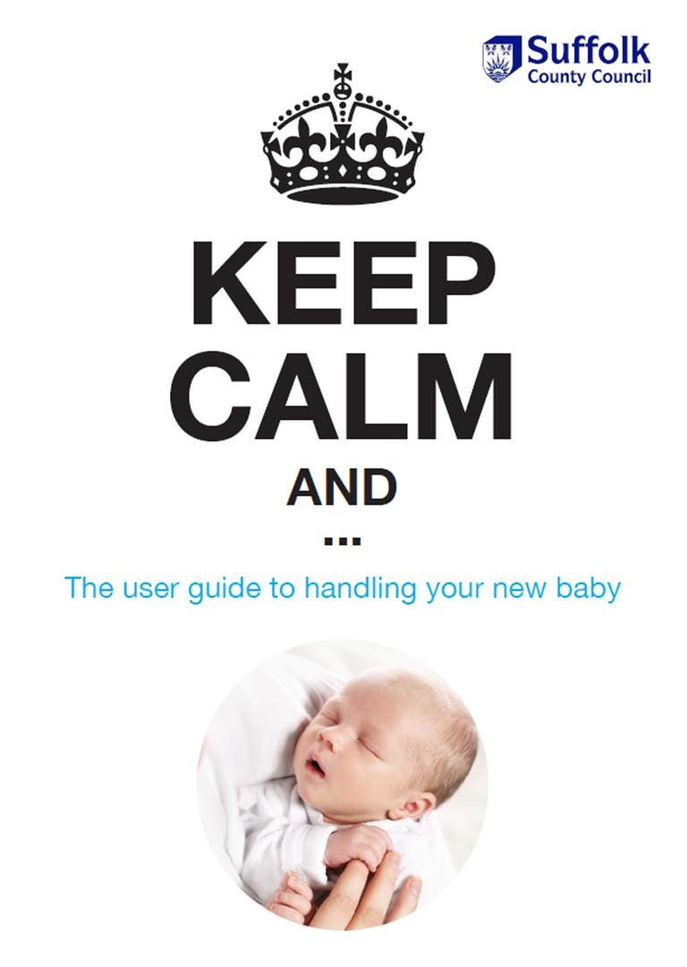 For more information, download the Keep Calm user guide to handling your new baby