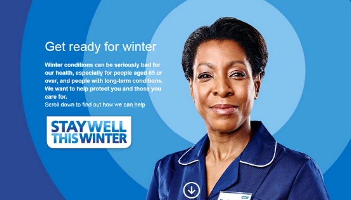 Stay well this winter campaign for NHS