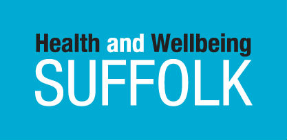 Health and Wellbeing Suffolk logo