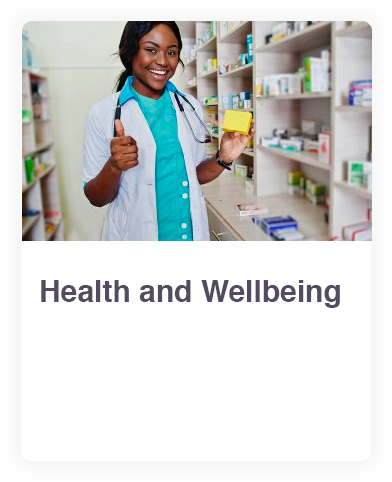 Health and Wellbeing web link
