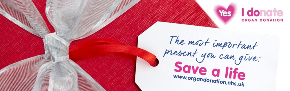 Organ donation - the most important present you can give