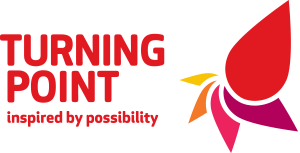 Turning Point - inspired by possibility logo