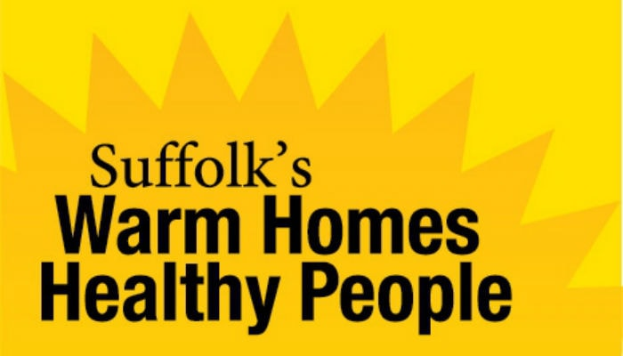 Suffolk's Warm Homes Healthy People logo