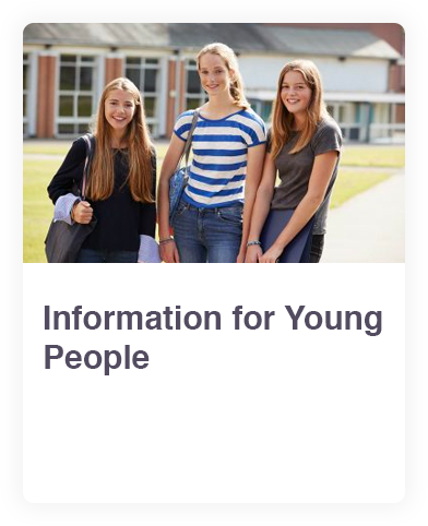 Young people web link